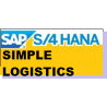 SAP S/4 HANA SIMPLE LOGISTICS 1610 LIVE TRAINING WITH STANDARD DOCS $750